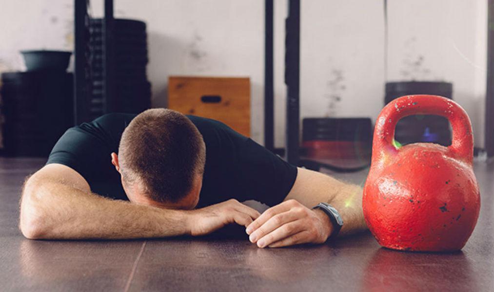 Усталость и упадок сил после тренировки