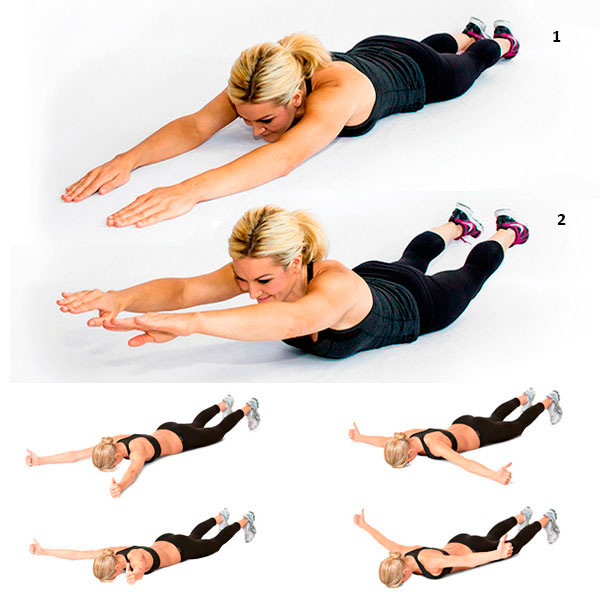 15 упражнений от складок на спине, помогут убрать жир в нижней части спины женщине в домашних условияхwomfit