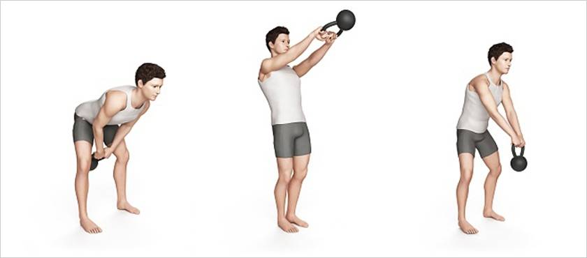 Тренировки с гирями для бокса
