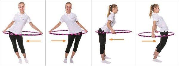 Как правильно крутить обруч: выбор хула-хупа для похудения, как научиться крутить на талии и бёдрах