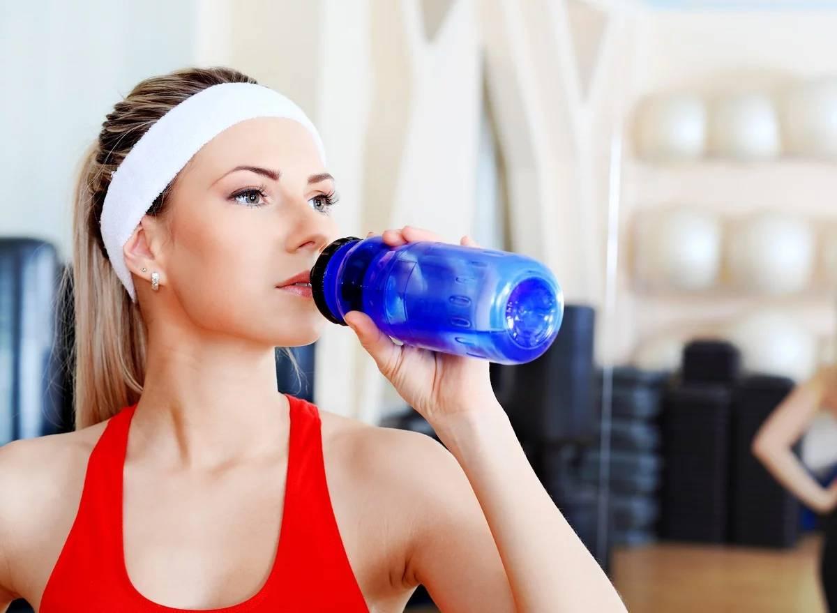 Что можно пить до тренировки и после нее :: как правильно ::  «живи!