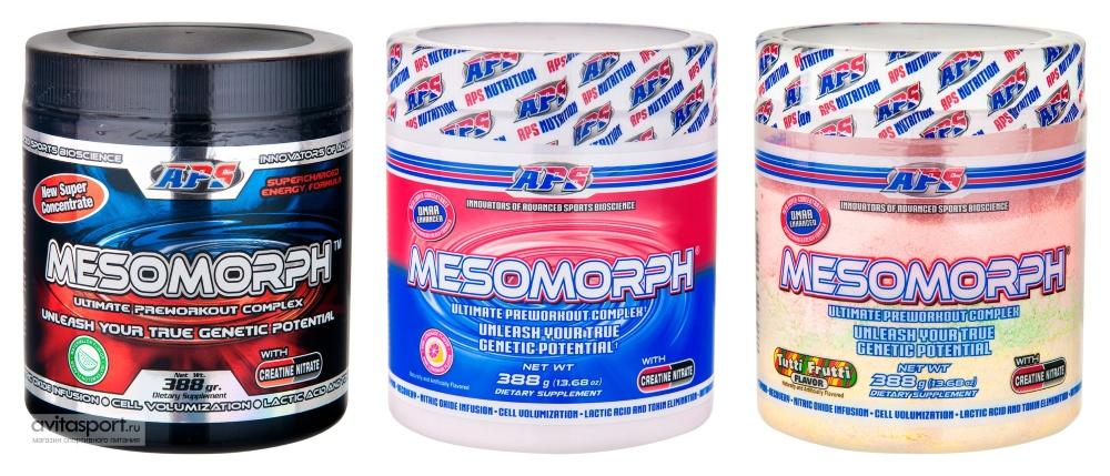 Спортивное питание aps nutrition предтренировочный комплекс mesomorphменс физик