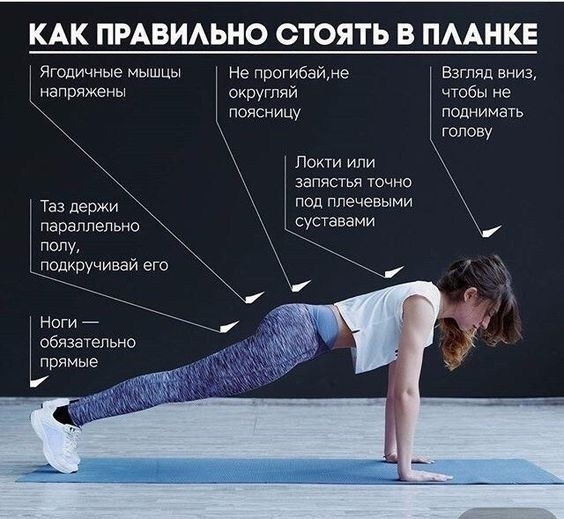 Упражнение планка на 30 дней для мужчин и женщин: таблица и отзывы