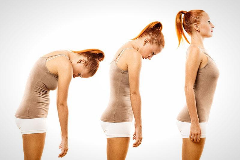 Лечебная физкультура при сутулости: упражнения с палкой