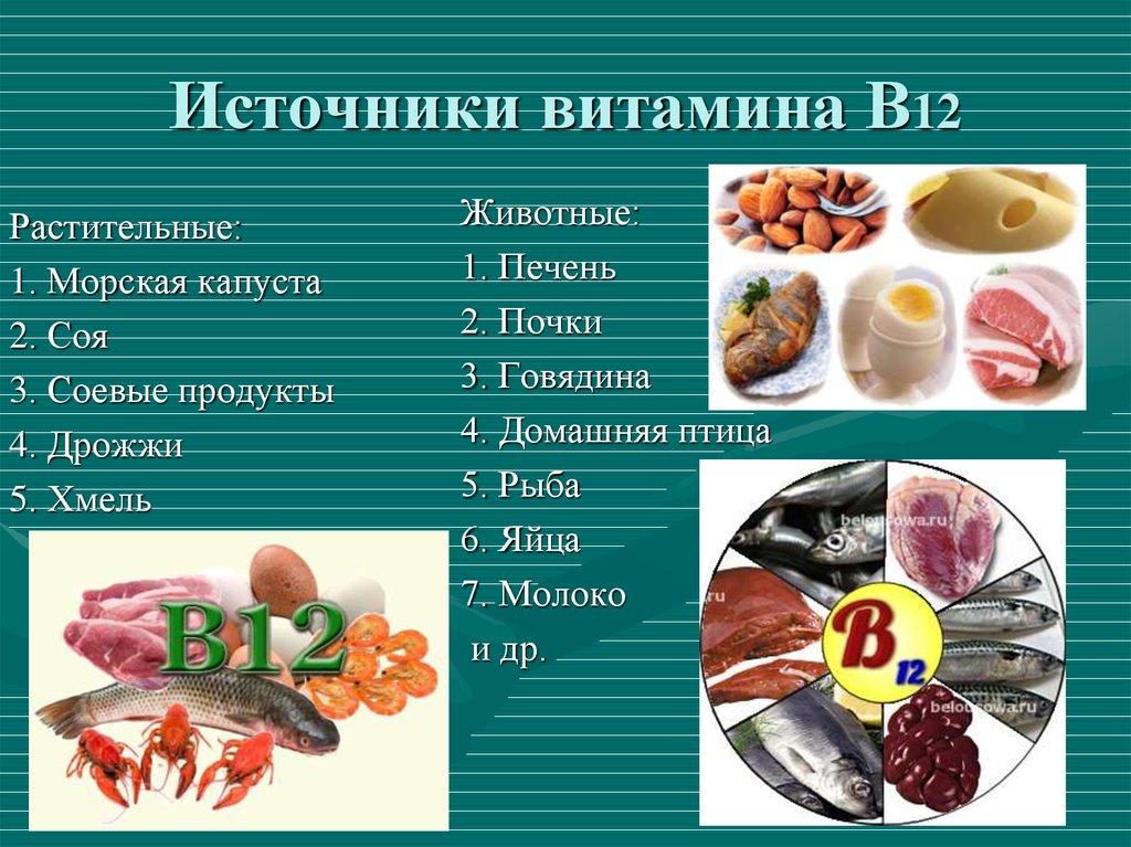 Продукты с самым высоким содержанием тиамина (в1)