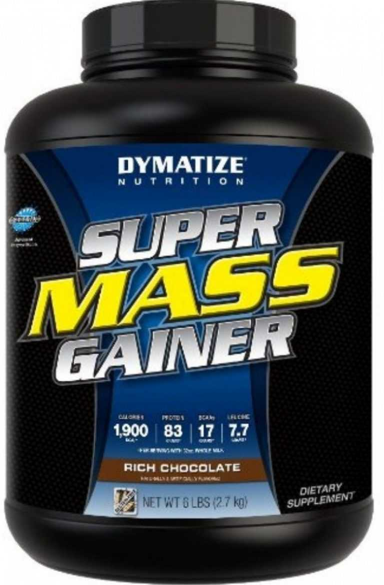 Гейнер super mass от dymatize