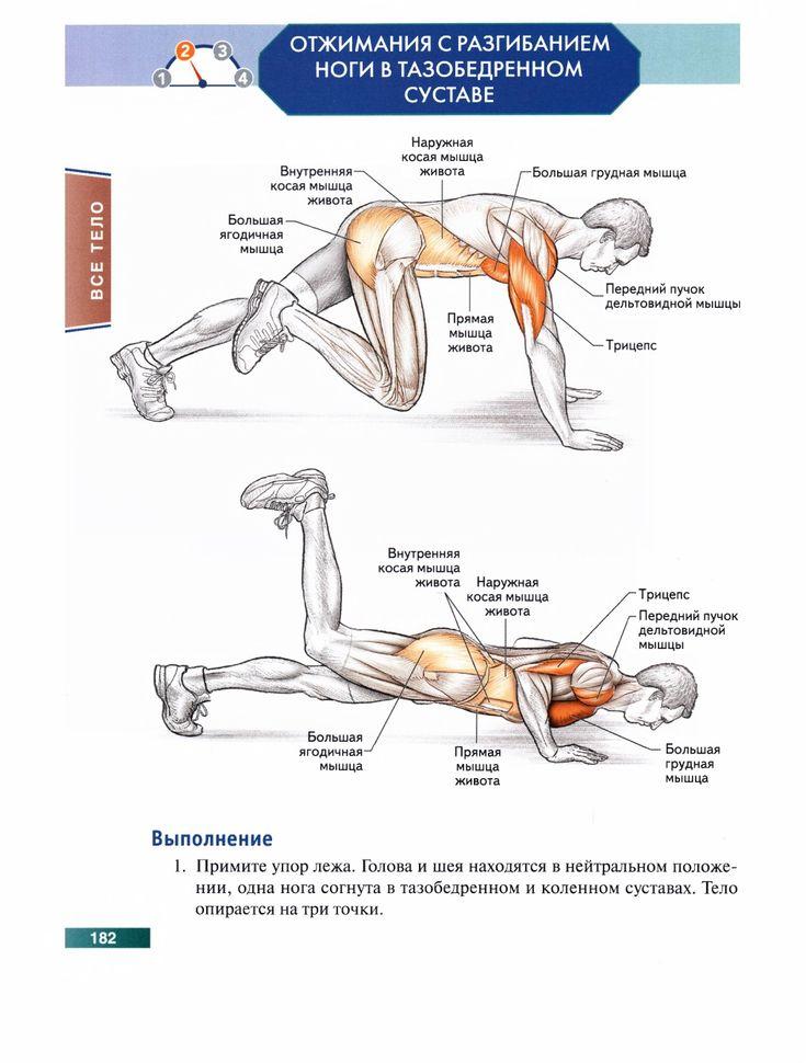 Программа тренировок с собственным весом для набора массы
