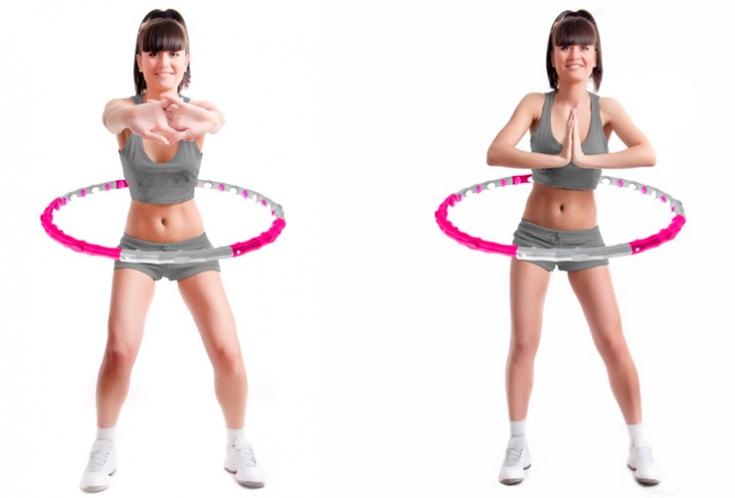 Помогает ли обруч убрать живот - как и сколько нужно заниматься, эффективные упражнения с видео