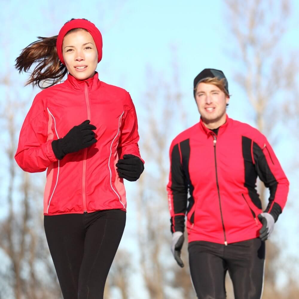 Как бегать зимой и в мороз: особенности зимнего бега