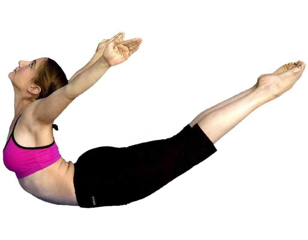 Упражнение лодочка - лучшее упражнение для тренировки нижней части спины