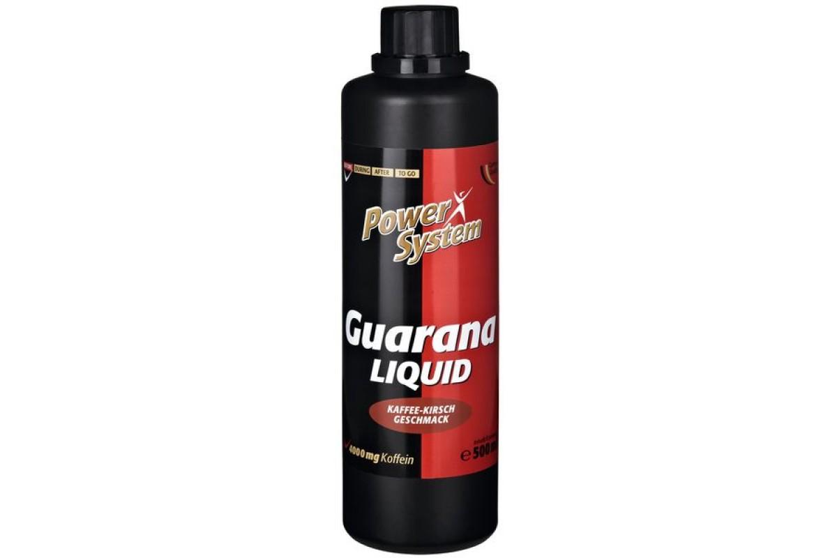 Как правильно использовать энергетик guarana liquid от пауэр систем. гуарана, как спортивное питание: для чего и как её принимать?