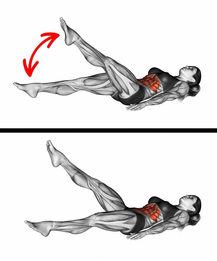 Как качать косые мышцы живота? лучшие упражнения на боковой пресс