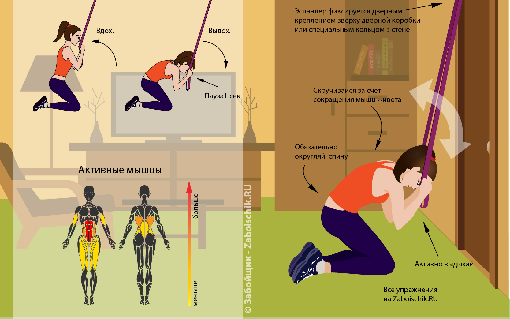 16 самых эффективных упражнений для пресса