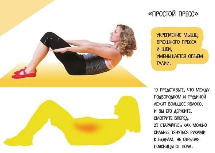 10 самых эффективных упражнений для похудения живота и боков