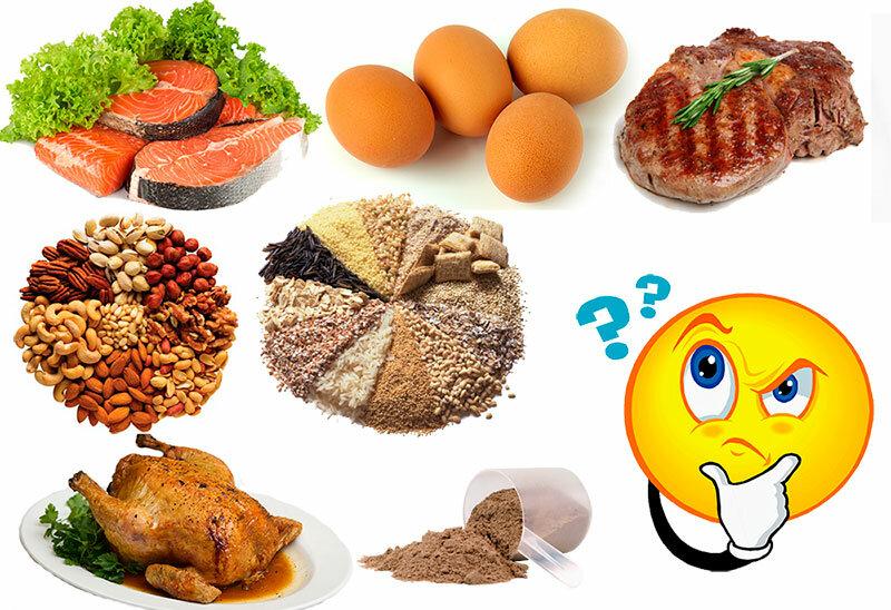Сколько нужно белка в день для роста мышц, для похудения и здоровья организма