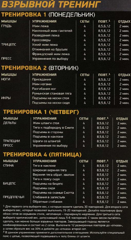 Зачем менять программу тренировок и как часто это делать. tribunsky.ru