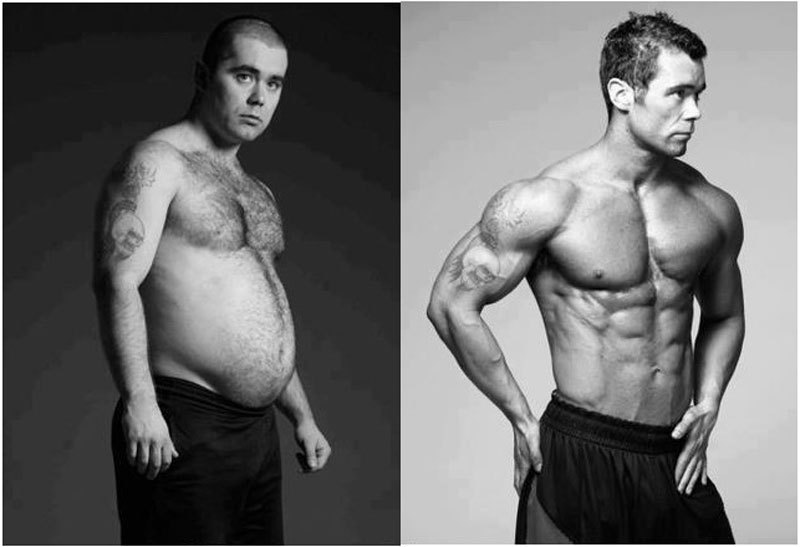 4 совета, как похудеть и нарастить мышцы одновременно   brodude.ru