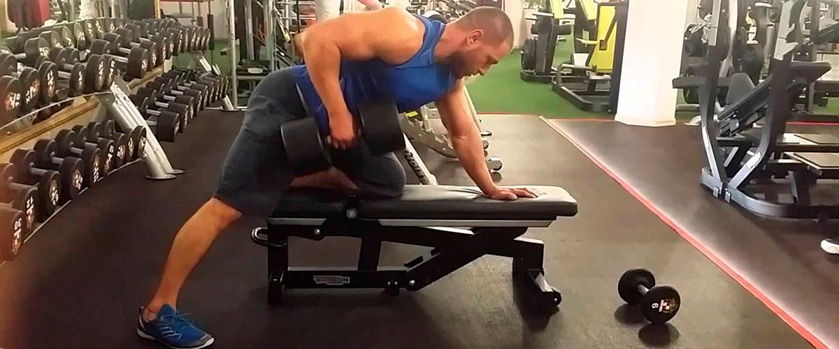 Тяга штанги в наклоне.все виды данного упражнения+советы+видео техники выполнения