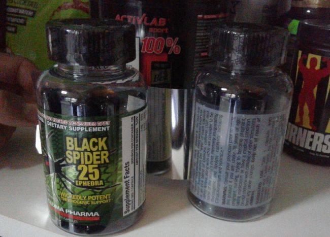 Black spider 25 ephedra побочные действия