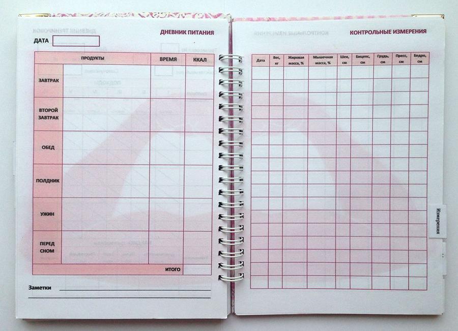 Дневник тренировок — как вести?
