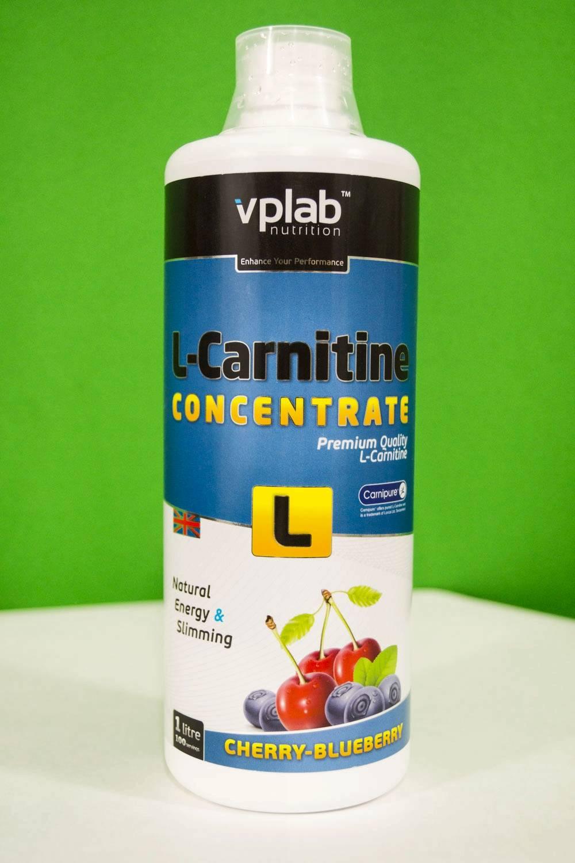 L-carnitine concentrate vp laboratory купить, описание, состав, как принимать