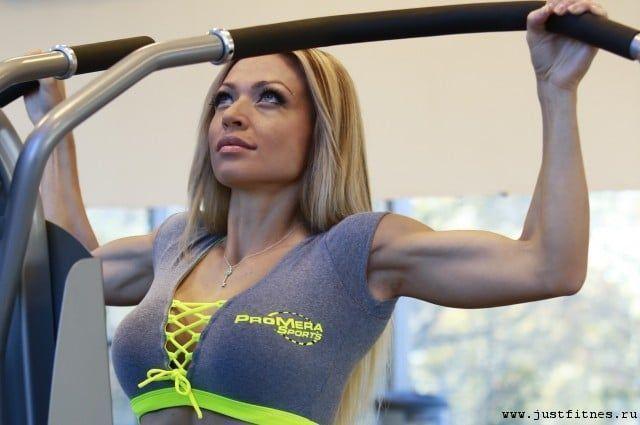 Екатерина усманова до и после что увеличила себе фитнес-модель