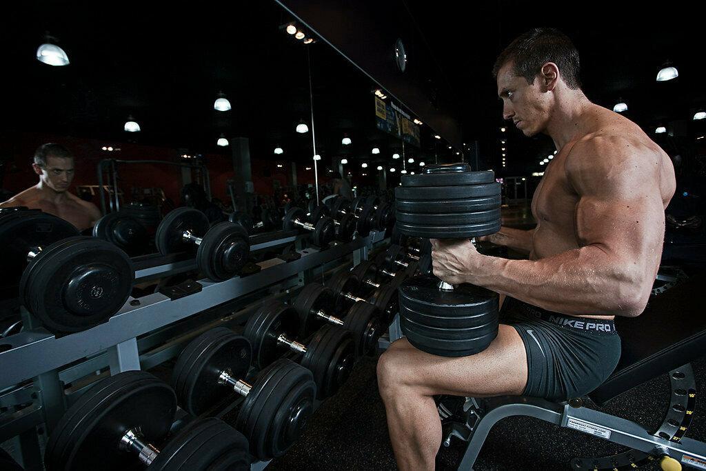 Тренировка до отказа для роста мышц