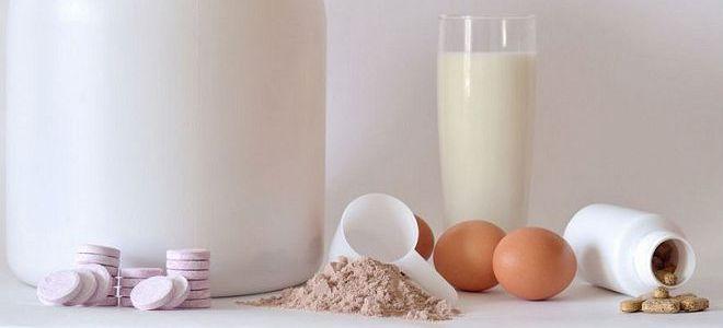Сравнение видов протеина по аминокислотному составу