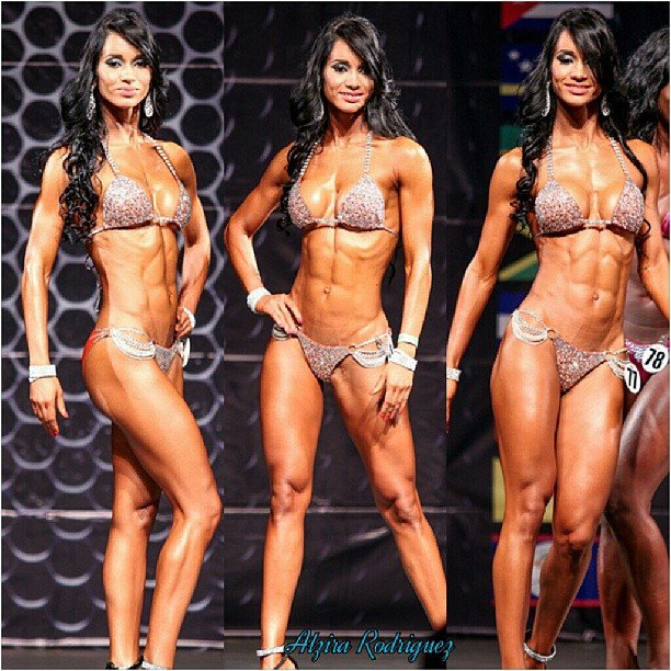 Alzira rodriguez - greatest physiques