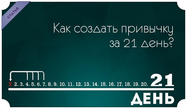 Привычки за 21 день: миф или реальность? – карина тимошенко – блог – сноб