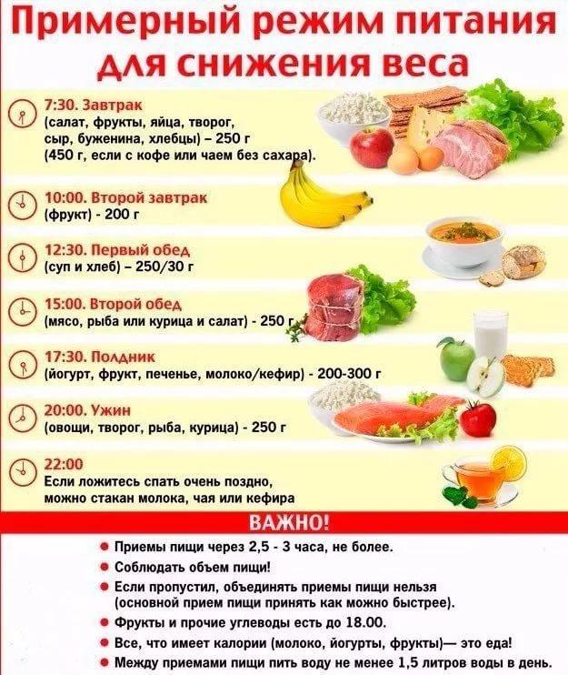 Питание для сушки тела: меню и правила