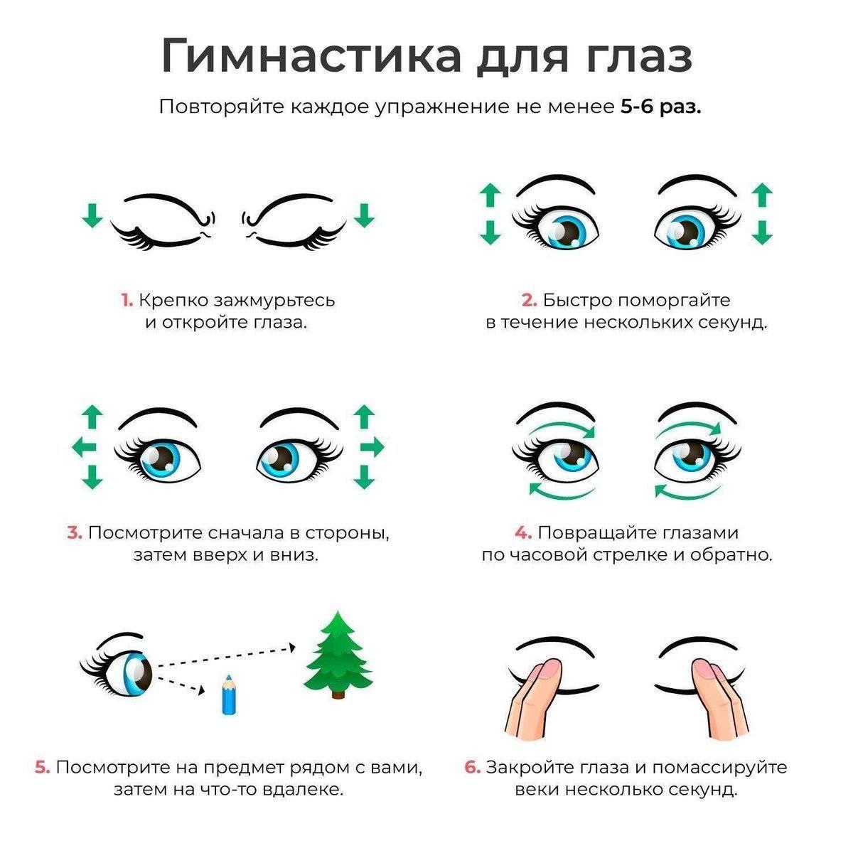 Можно ли улучшить зрение в домашних условиях: упражнения,