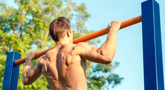 Вис на турнике: как он может навредить здоровью — тестостерон