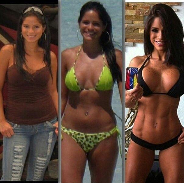 Трансформация Мишель Левин до и после: фото фитнес-модели