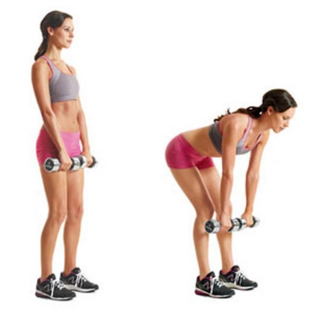 Тяга штанги - 79 фото качественных базовых упражнений для всех