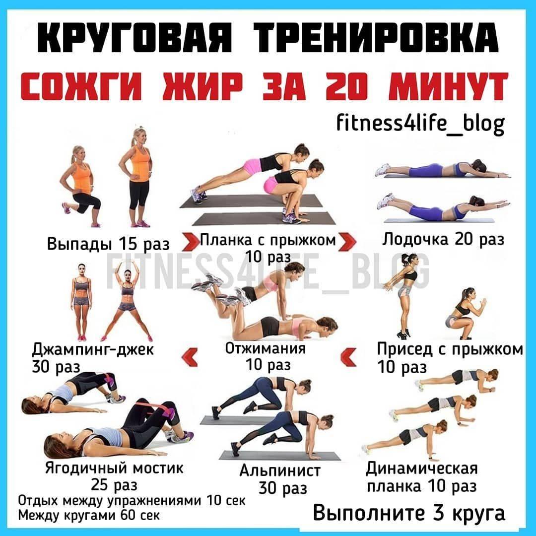 Какие тренировки сжигают жир