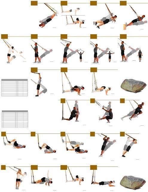 Программа tрx тренировок для девушек для похудения, новичков, круговая, на массу, силу и выносливость