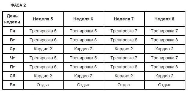 Сравнение джиллиан майклс с программами других тренеров