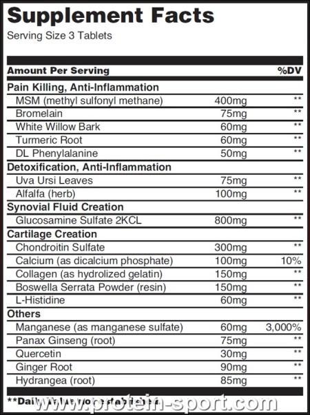 Arthro guard 120 табл (biotech) купить в москве по низкой цене – магазин спортивного питания pitprofi