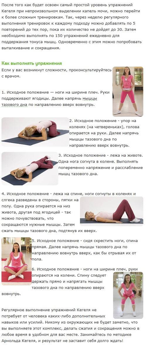 Упражнения кегеля и другие способы для сужения входа во влагалище