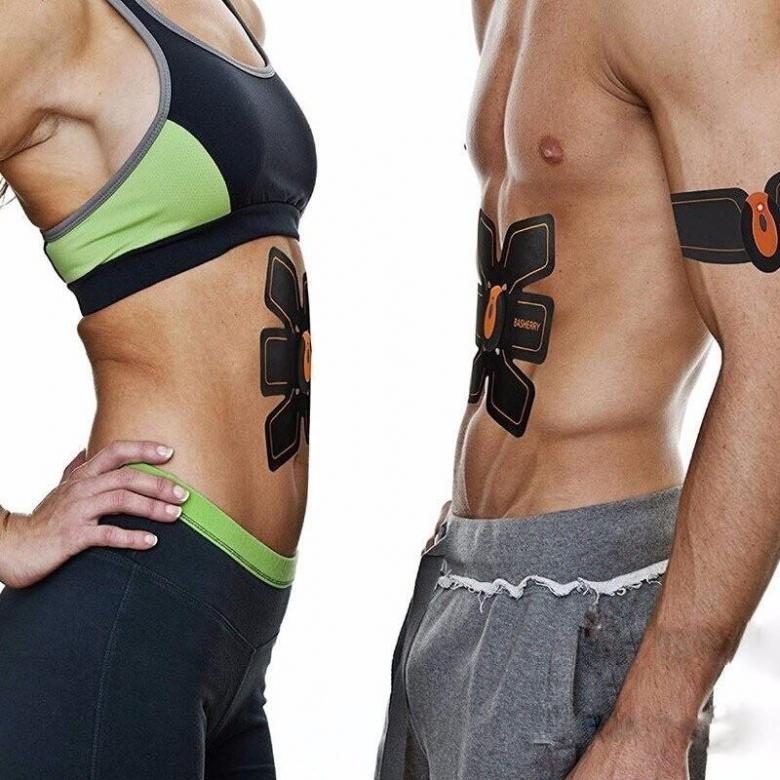 Ems trainer  тренажер стимулятор для мышц пресса как пользоваться поясом