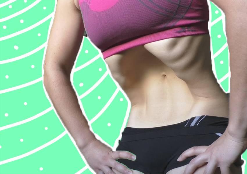 Упражнение вакуум — как правильно делать для живота?