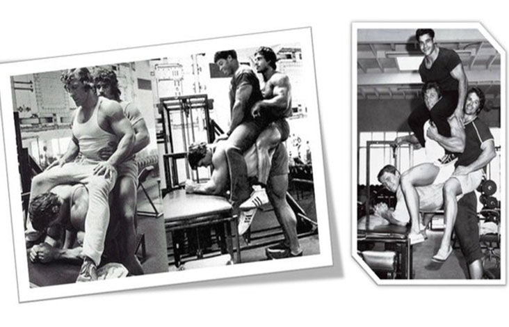 """Упражнение """"ослик"""" для прокачки икроножных мышц"""