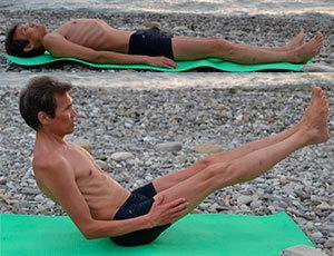 Очень эффективное и полезное для спины упражнение «лодочка»