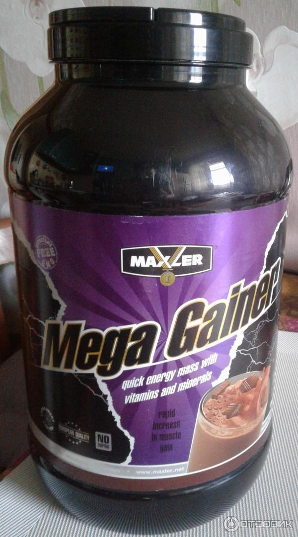 Mega gainer maxler (мега гейнер макслер): состав, плюсы и минусы, как принимать