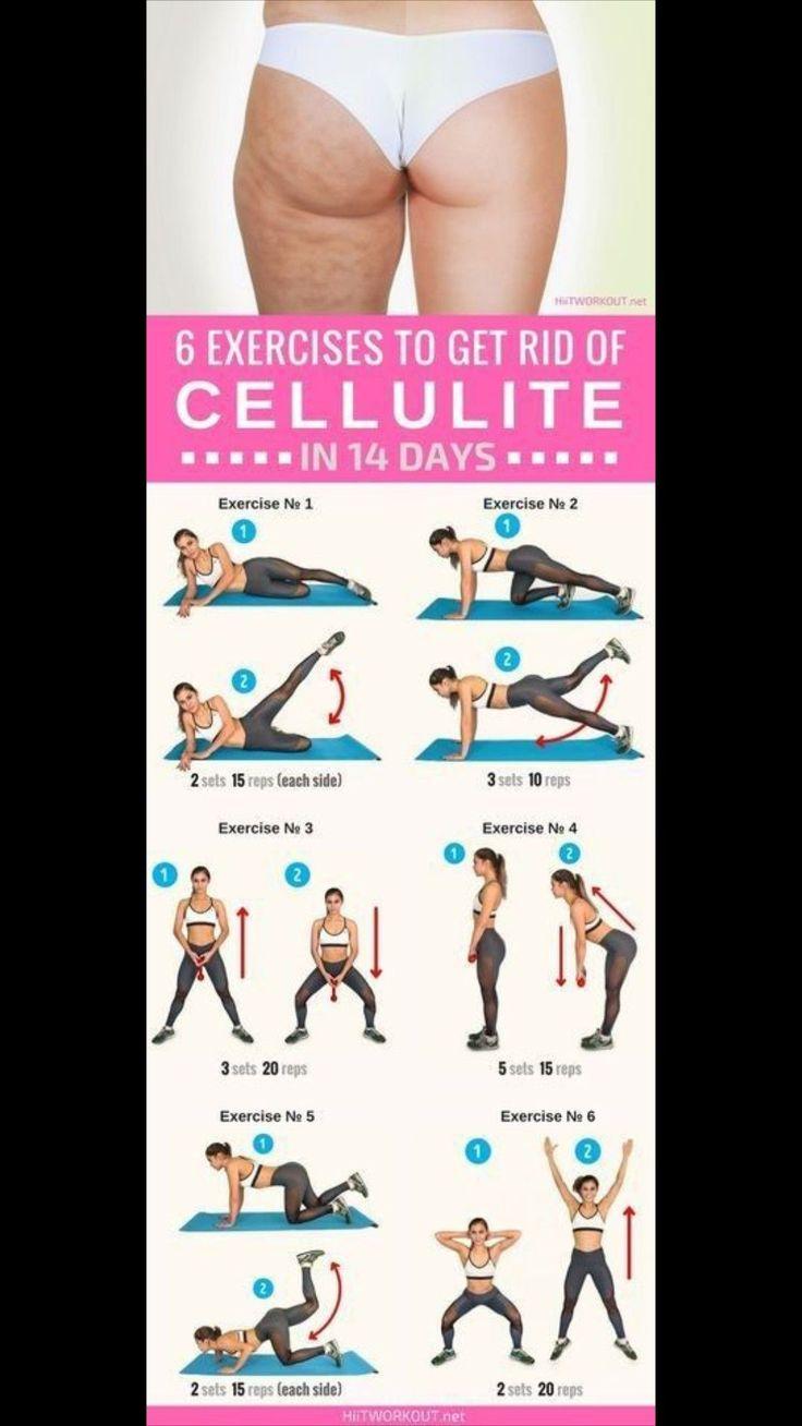 Самые эффективные упражнения от целлюлита на ногах и попе: тренируемся в домашних условиях