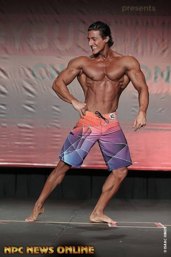 Результаты «олимпии 2016» в категории «men's physique»: