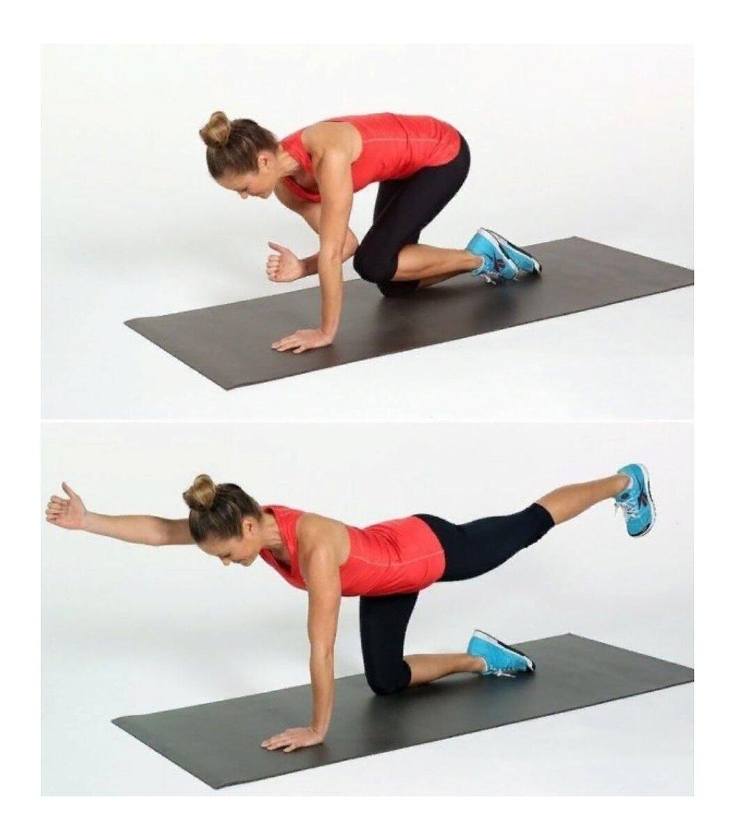 Упражнения по тренировке мышц кора дома