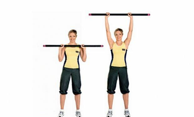 Эффективные и простые упражнения с бодибаром