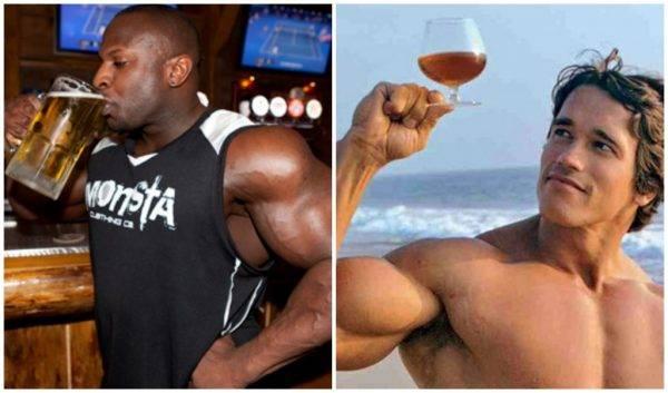 Влияние алкоголя на мышцы и жиросжигание — научные данные